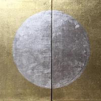 金に銀の月