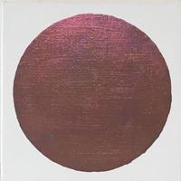 月 葡萄色