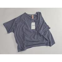 Tシャツ 青中縞