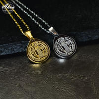 coin necklace stainless steel №50