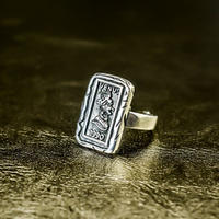silver 925  design ring №64