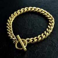 喜平 chain bracelet gold
