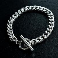 喜平 chain bracelet silver
