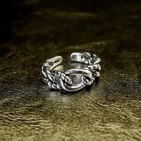 silver 925  design ring №66