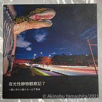 写真家・山下晃伸フォトブック「夜光性静物観察記7〜闇に浮かぶ獣たち〜」