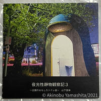 写真家・山下晃伸フォトブック「夜光性静物観察記3〜公園のおもしろトイレ達〜」