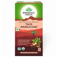 トゥルシー マサラチャイ ティー 25袋 オーガニックインディア TULSI MASALA CHAI 25 Tea Bags【ORGANIC INDIA】