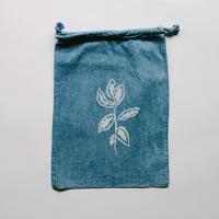 NDIGO 巾着Mサイズ / 草木
