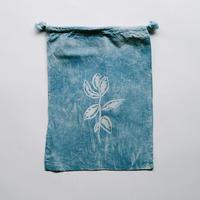NDIGO 巾着Mサイズ / 草木 NO.5