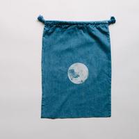 NDIGO 巾着Mサイズ / MOON NO.8