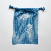 INDIGO 巾着Sサイズ / In moonlight  NO.4