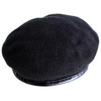 【albino select】 パイピング加工サーモニットベレー帽