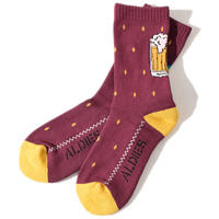 Beer Sox(Burgundy)
