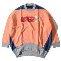 I Love Beer Funny Sweat(Pink)