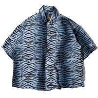 Leopard Shirt(Blue)※直営店限定カラー