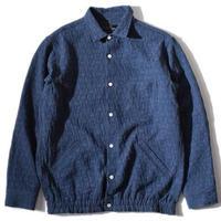 Uneven Gum Shirt(Navy)