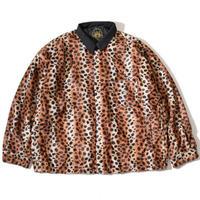 Animal Wide Coach Jacket(Beige)