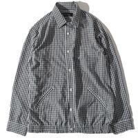 Check Tighten Shirts(White)