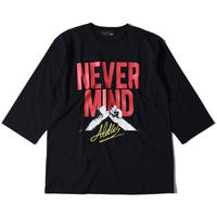 Never Half Sleeve T(Black)