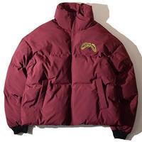 Snake Insulation Short Jacket(Burgundy)※直営店限定アイテム