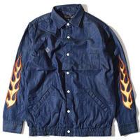 Fire Chambray Shirt(Navy)