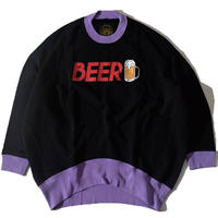 I Love Beer Funny Sweat(Black)