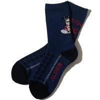 W.N.L Socks(Navy)