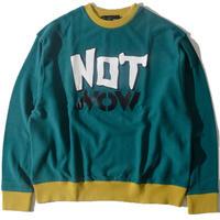 Notnow Wide Sweat(Green)