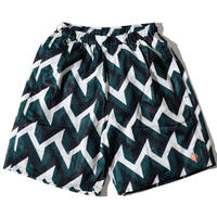 Geometry Sea Shorts(Green)