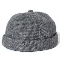 Wool Roll Cap(Gray)