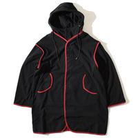 Fleece Military Coat(Black)