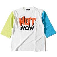 Notnow Half Sleeve T(Multi②)