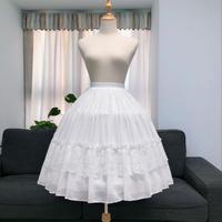 パニエ ボリューム ウェディングドレス ロリータ ワイヤー3本 ふくらみ 調節可 ロング ミディアム Aライン 結婚式 ドレス