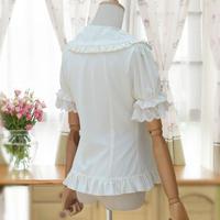 ブラウス ゴシック ロリィタ  ワイシャツ レディース  ロリータ スリム効果 S M L XL