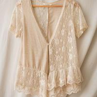 ロリータ カーディガン ロリィタ レディース 夏 半袖 かわいい  シースルー   羽織 日よけ
