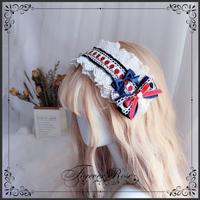 ロリータ ヘッドドレス 白雪姫 カチューシャ ヘアアクセサリー かわいい リボン コスプレ ハロウィン