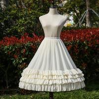 パニエ ロリータ ロング 70cm  スカート ドレス 骨あり  ゴシック ゴスロリ  ロリィタ