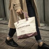 Mini Tote Bag(burgundy)  ミニトートバック(バーガンディ)