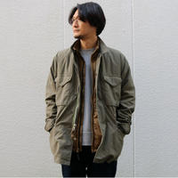WORKERS【 M-65 Mod 】NYCO ReversedSateen OD / CottonCorduraNylonRipstop BLACK