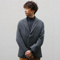 WORKERS【MoonglowJacket】GreyHerringboneTweed Size.40