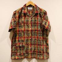 WORKERS【OpenCollarShirt】Peacock