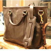 VASCO【LEATHERNELSON2WAYTOTOBAG】BLACK
