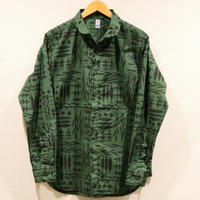 KATO` 【PLANTS】ラウンドカラーシャツ
