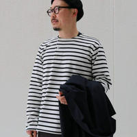 WORKERS 【Henley Border】White × Black , White × Blue