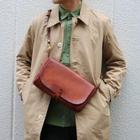 VASCO  VS-240L 【LEATHER 3WAY CLUTCH BAG 】Brown