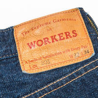 WORKERS【Lot801】StraightJeans