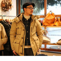 ZANTER JAPAN【WP-H DOWN PARKA】 Beige M