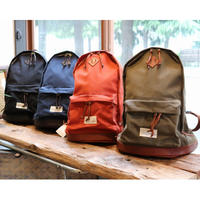 VASCO 「Vasco Equipment」 NYLONCROSS×LEATHER OLD DAYPACK RED