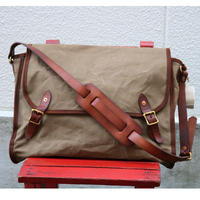 VASCO  VS-258【 CANVAS MAIL SHOULDER BAG 】LARGE Olive