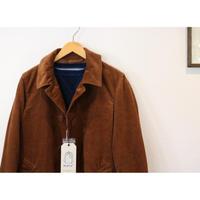 KATO'【コーデュロイステンカラーコート】BROWN